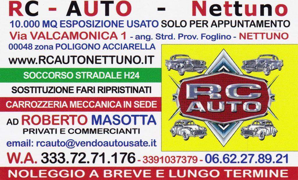 RC AUTO NETTUNO Via Valcamonica 1-2 00048 Nettuno AUTO USATE LAZIO RC AUTO NETTUNO #rcautonettuno 3337271176