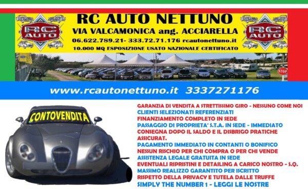 RC AUTO NETTUNO #rcautonettuno 3337271176 #PROFESSIONISTI DEL #CONTOVENDITA #AUTOUSATE #CAMPER #CARAVAN #MOTORHOME